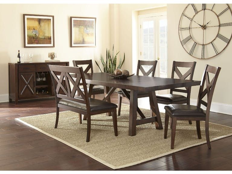 bob mills furniture with images  dining set with bench