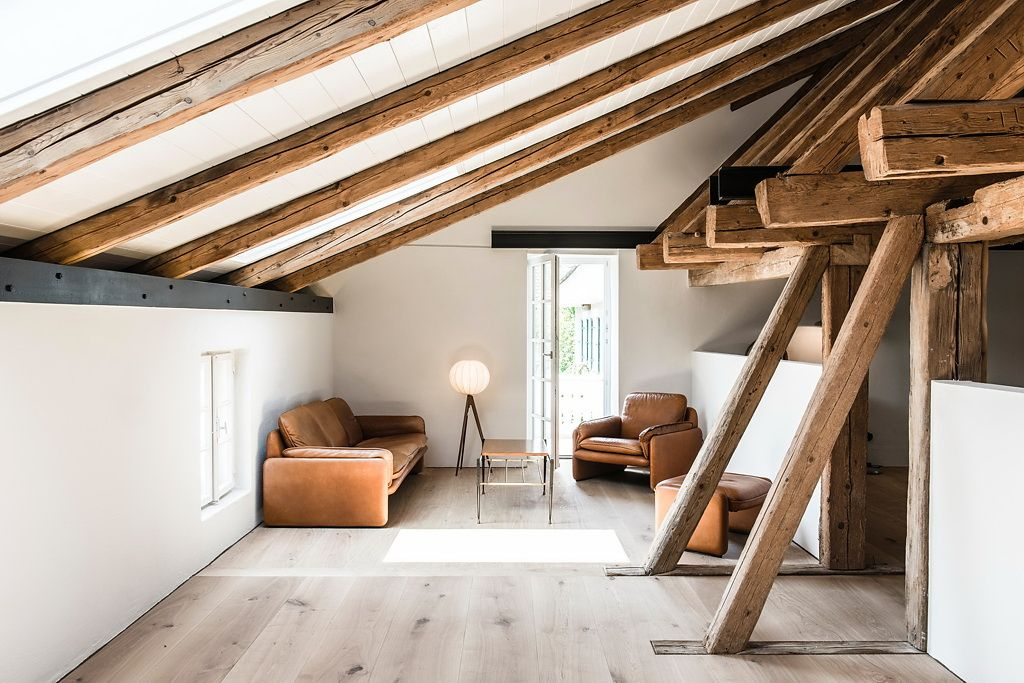 ein wohntraum in einer scheune in bayern   häuser   pinterest, Innenarchitektur ideen