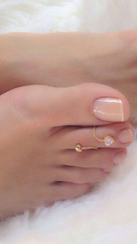 ring foot Wedding fetish and
