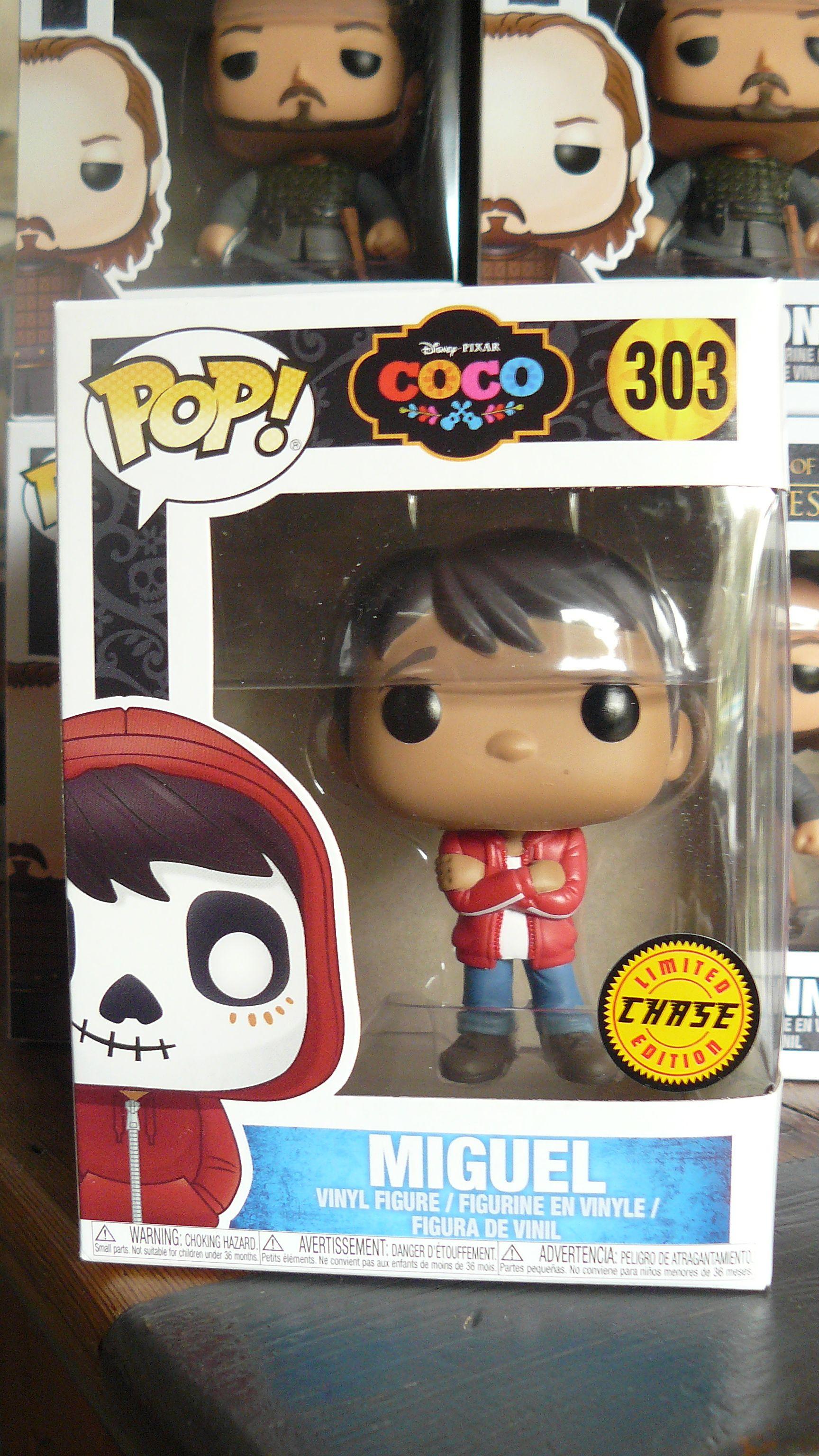 Figurine Funko POP! de Miguel du dessin animé Coco