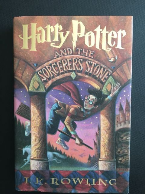 Harry Potter And The Sorcerer S Stone J K Rowling Hardcover