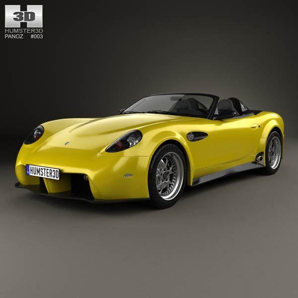 Panoz Esperante Spyder GT 2015 3d model from humster3d.com. Price ...