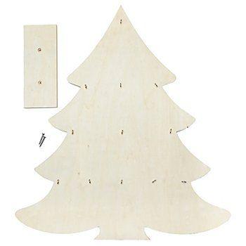 Adventkalender Tannenbaum, 49,5 x 55 cm online kaufen | buttinette ...
