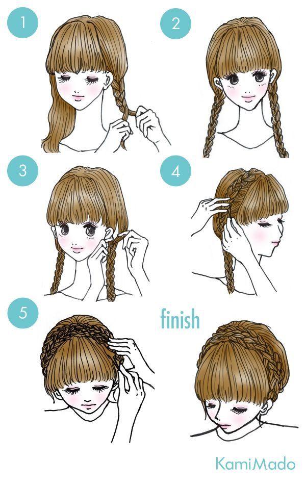 Pin Adăugat De Claudia Giarca Pe Hair Style Cabello Tutoriales De