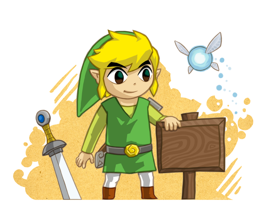 Toon Link And The Blank Sign By Purrdemonium On Deviantart Blank Sign Legend Of Zelda Link