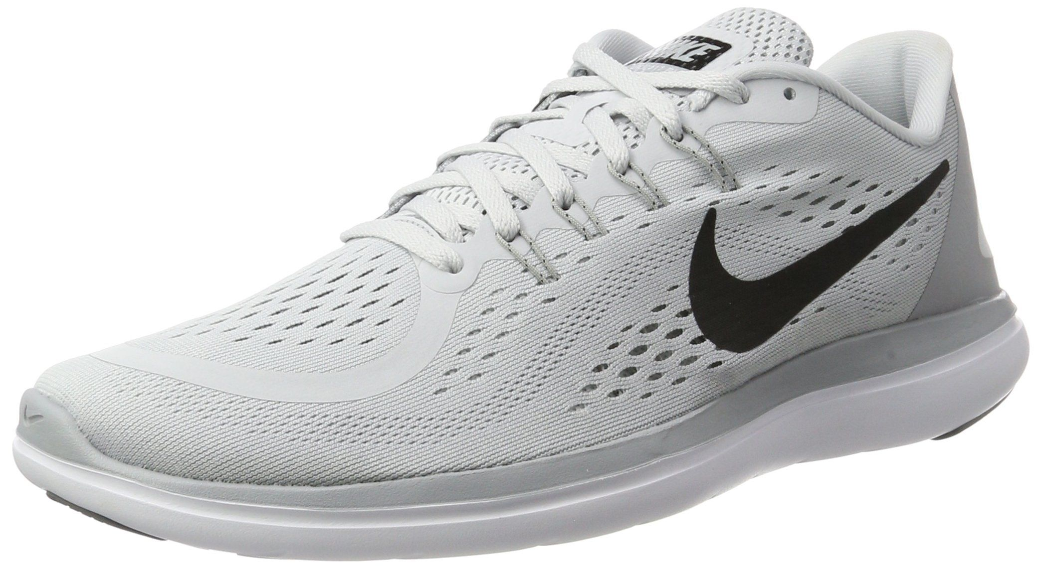 Men\u0027s Nike Flex RN 2017 Running Shoe Pure Platinum/Black/Wolf Grey/Cool Grey  Size 10 M US | Shoes | Pinterest