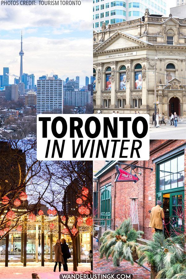 Considering visiting Toronto in winter? Your insider's guide to Toronto Canada in winter with the 10 best things to do in Toronto in winter. Brave the cold to visit Ontario's capital! #travel #toronto #ontario #canada (Photos by Tourism Toronto.)