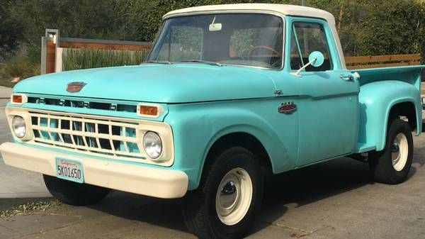1965 Ford F 100 F100 Shortbed Stepside Cars For Sale Ford
