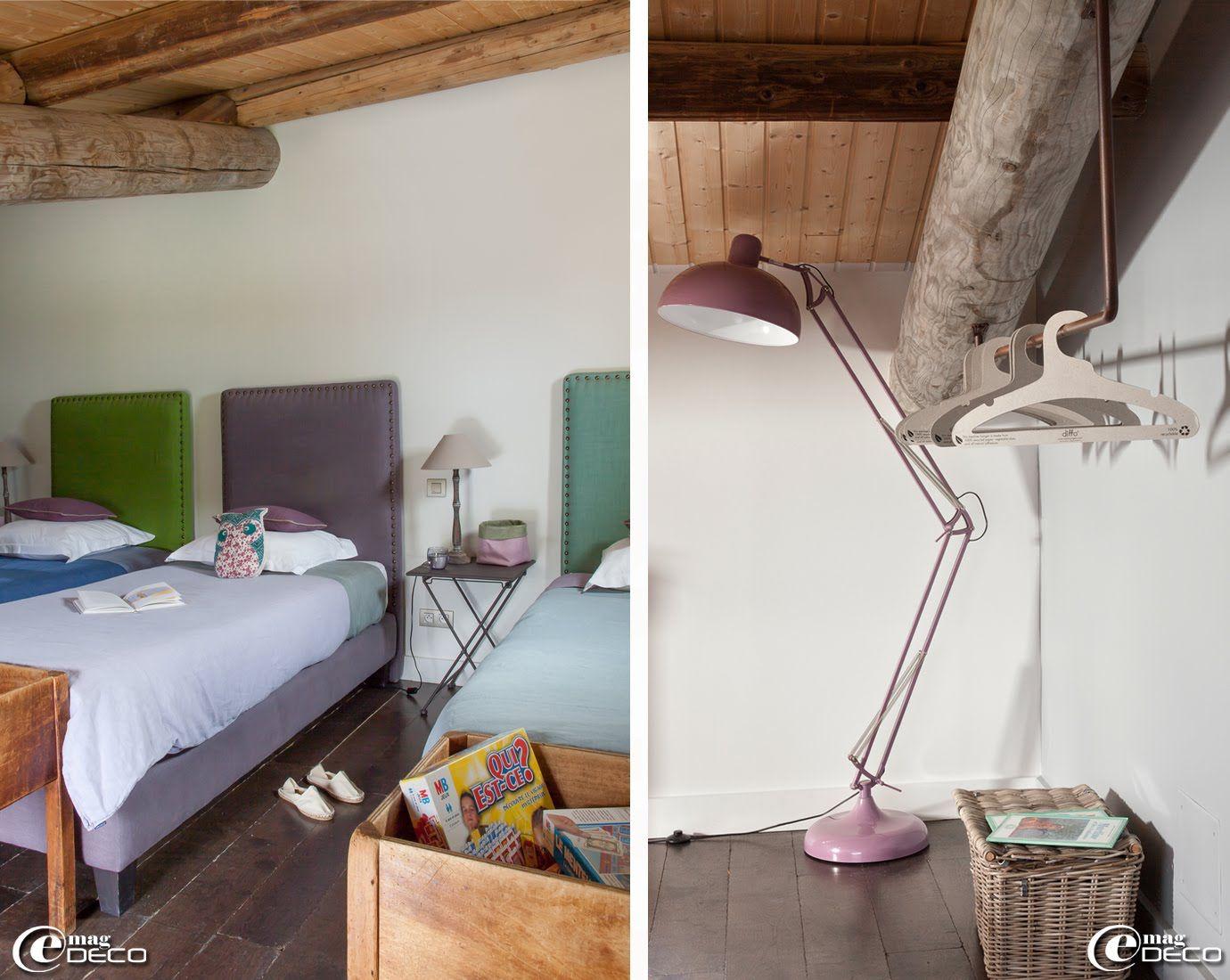 chambre dortoir de la maison d'hôtes de charme 'la bergerie de nano