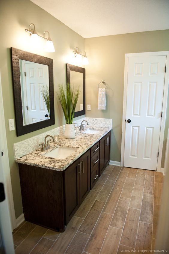 Master Bath After Modern Meets Coastal Updated Shaker