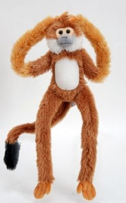 Hang Matez Squirrel Monkey Stuffed Animal 22 Long Monkeys