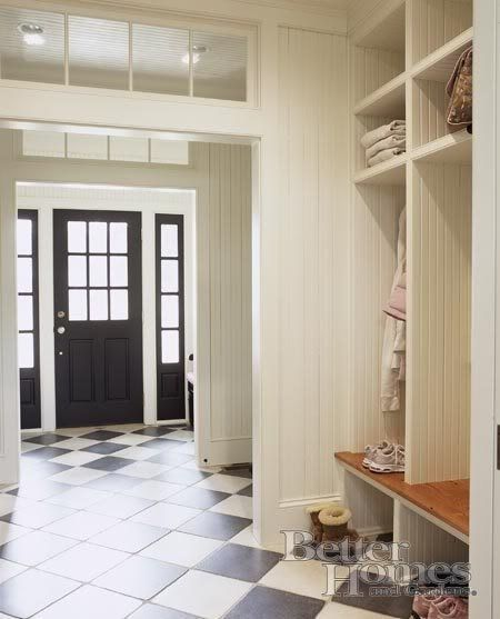 White Interior Front Door i don't like a black front door but i love love love all the
