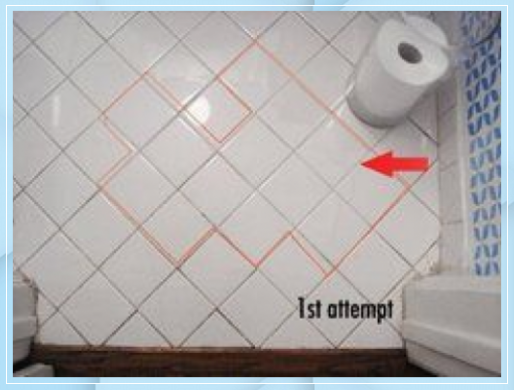 How To Green Clean The Grout In Your Bathroom 3d Bode 3d Bodenbelag Wohnzimmer 3d Bodenbelag Bad 3d Bodenbelag In 2020 Grout Cleaner Tile Grout Clean Tile Grout