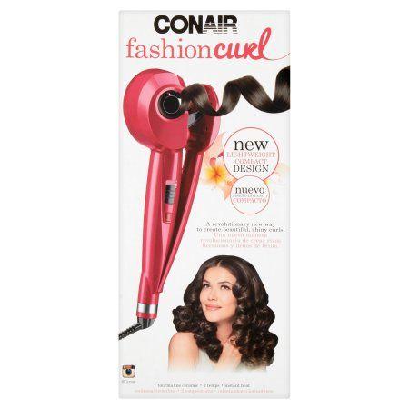 Conair Fashion Curl Toumaline Ceramic Curl Machine, Red