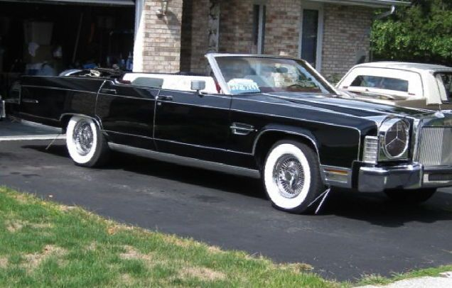1978 Lincoln Continental Town Car Convertible With Continental Kit
