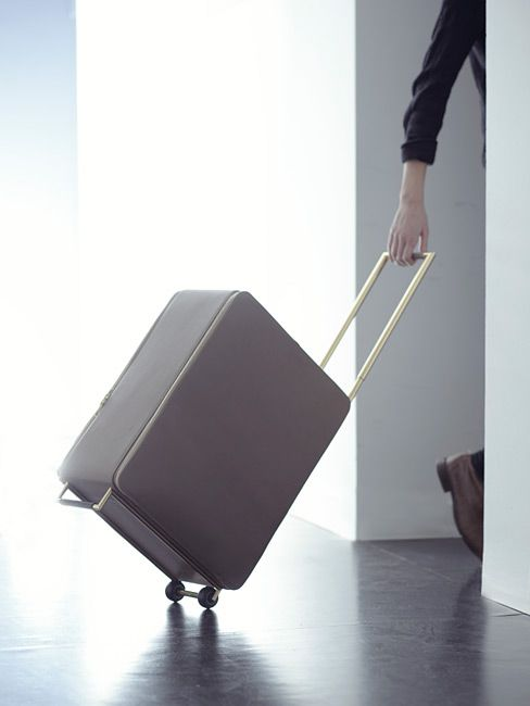 KAGE FOR WALLPAPER* HANDMADE - by Tsatsas  Best cabin trolley suitcase ever
