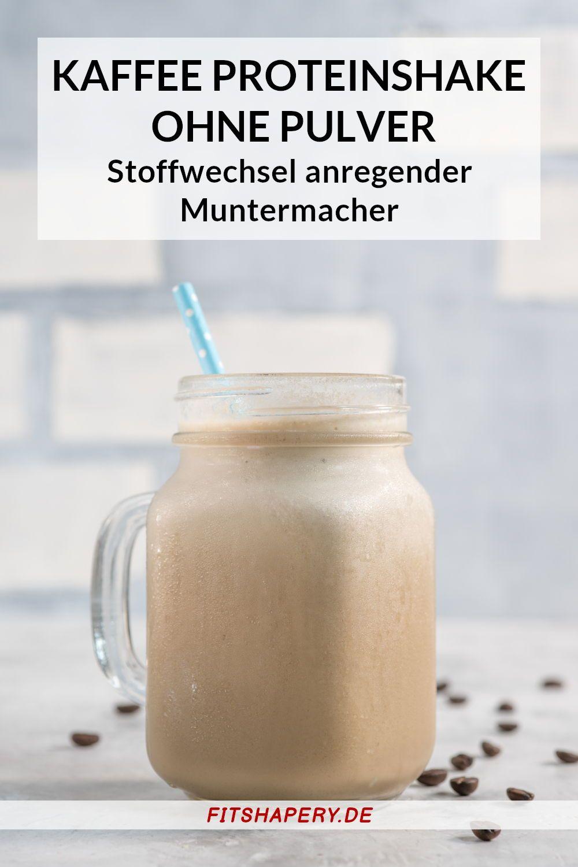 Protein Shake mit Kaffee - Stoffwechsel ankurbeln mit diesem Eiweißshake