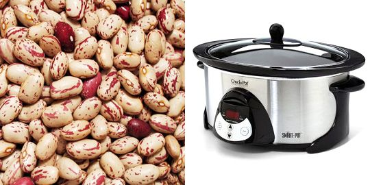 How to Cook Beans in the Slow Cooker