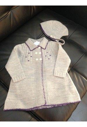 Carmen Bernal conjunto abrigo y capota gris 11214    http://www.suenodehadas.com/tienda/index.php?route=product/product&manufacturer_id=21&product_id=376
