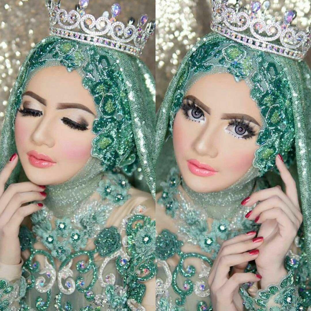 Pin by نازیہ صدیقی on pretty girls Wedding hijab