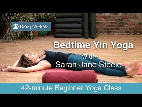Yoga with Sarah-Jane Steele: Bedtime Yin Yoga - YouTube