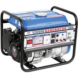 204 59 Ust Gg1200 1 200 Watt 2 4 Hp 79 5cc 4 Stroke Ohv Portable Gas Powered Generator Gas Powered Generator Portable Generator Portable