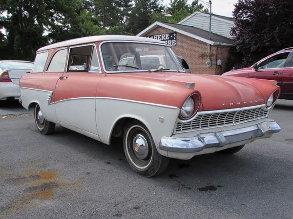 1960 Ford Taunus De Luxe 17m Ford Autos Furgoneta