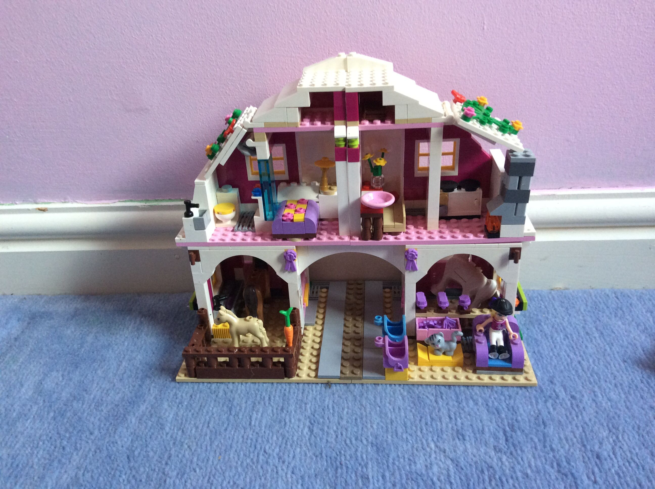 Lego friends sunshine ranch inside Lego friends, Lego