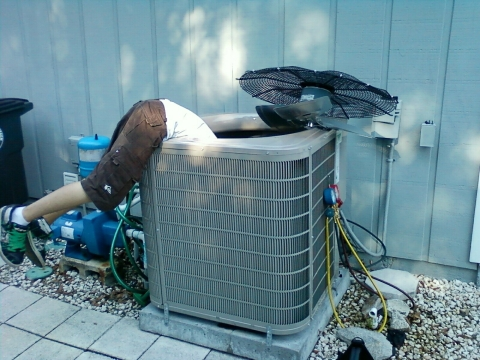 Don't attempt repair on your Heating or AC unit on your