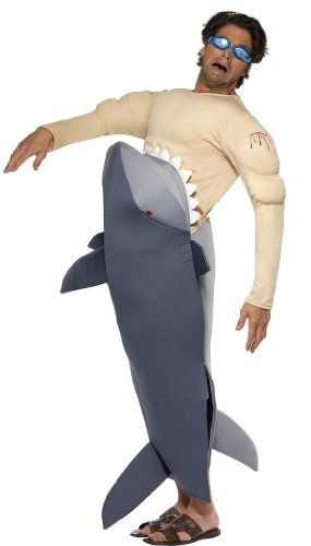 man eating shark halloween costumes - Halloween Costume Shark