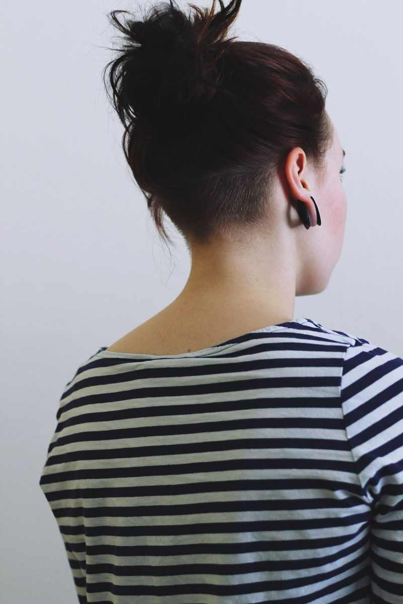 shornnape undercuts hairstyles pinterest frisur. Black Bedroom Furniture Sets. Home Design Ideas