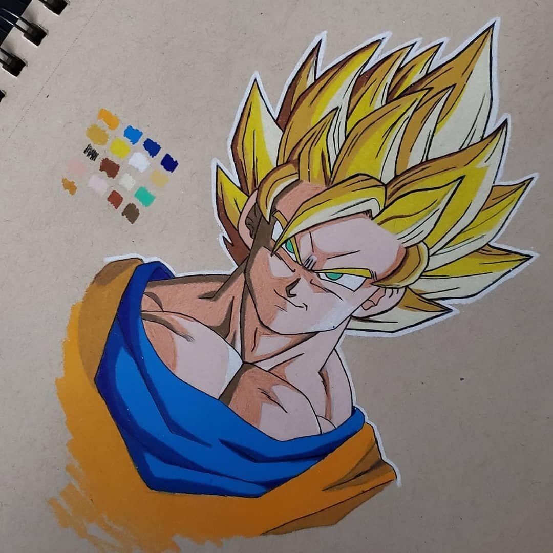 Had to go super saiyan... . . . #gokudrawing #goku #kakarot #supersaiyan2 #animefan #art_4share #animedrawing #mangaartwork #otaku #fanart #fanartanime #sketchbook #prismacolorpencils #strathmoretonedtan #dbz #dbs #dragonball #drawing #draw #worldofpencils #worldofnerdart #worldofartists #slikk1_art_motivation