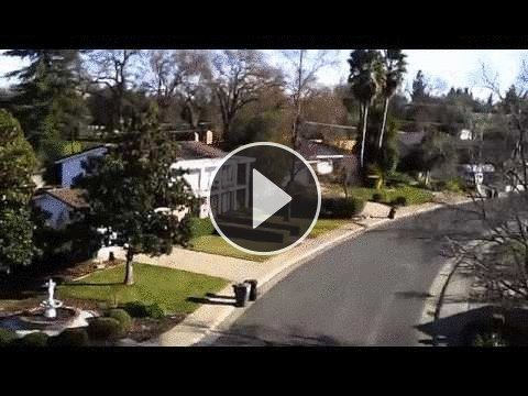 ZFlyingChef's 3rd Flight with New Syma X5C Quadcopter (20-30 mph winds). Too much wind!