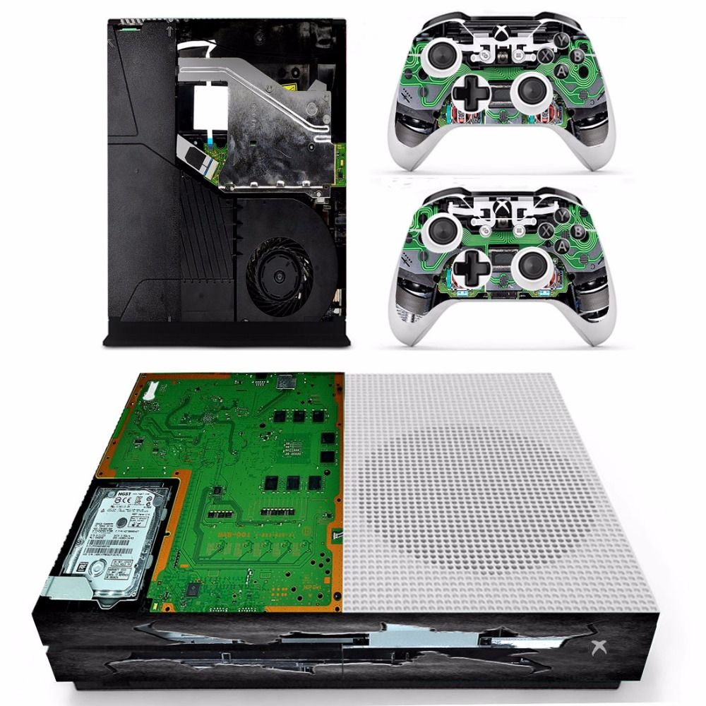 Gaming Shop Http Gamingconsoleshopcom Xbox Skins Pinterest 360 Slim Controller Diagram Free Image About Wiring And Circuit Vinly Skin Sticker Decals For One S Console With Two Wireless