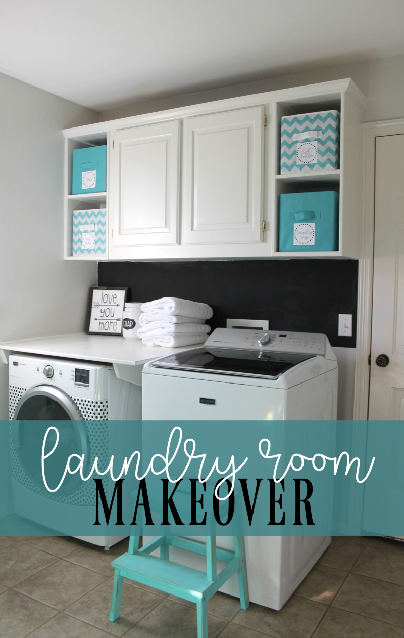 laundry room makeover on a budget   Laundry room   Pinterest ...
