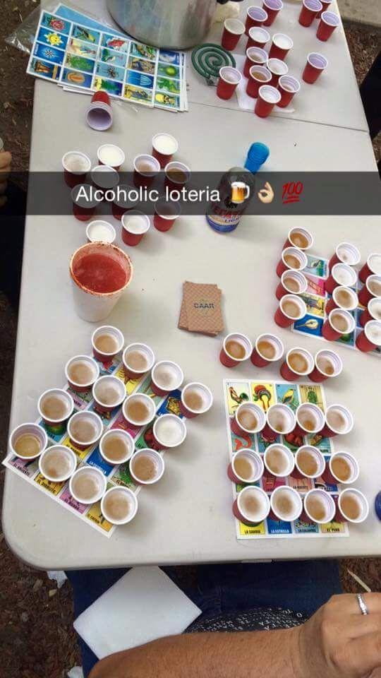 alcohol loteria bingo alcoholic drinks mexican birthday rh pinterest com