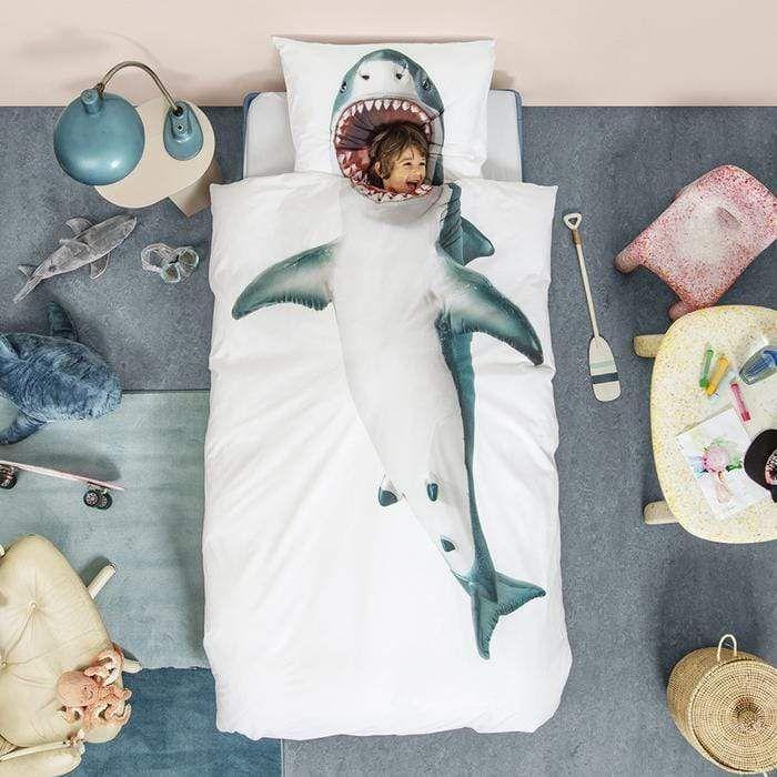 duvet bedding shark bedroom shark room
