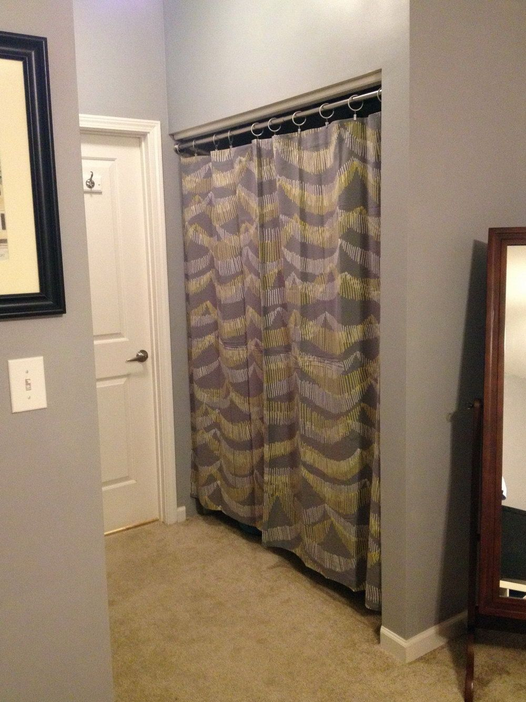 More ideas below Rustic Bifold Closet Door