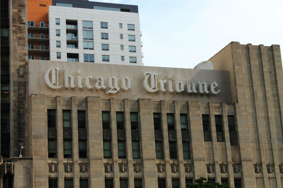 The Koch brothers, billionaire funders of the Tea Party and libertarian all-stars, are reportedly interested in buying several newspapers across the country, including the The Los Angeles Times, The Chicago Tribune, The Baltimore Sun, and The Orlando Sentinel. They might also be exploring the possibility of buying Hoy, the second-largest Spanish-language daily newspaper in the United States.