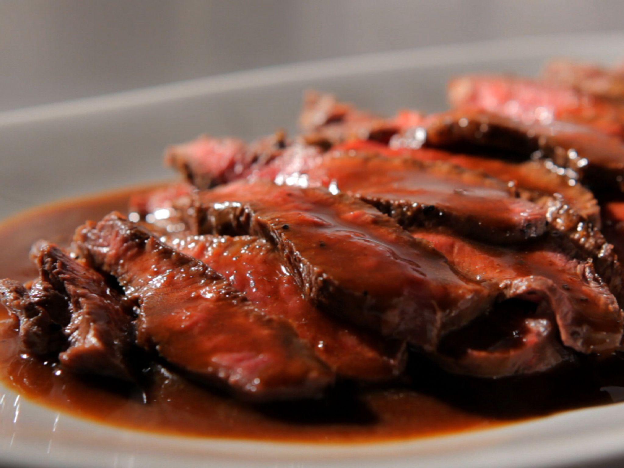Flat Iron Steak With Cabernet Sauce Recipe Cabernet Sauce Recipe Flat Iron Steak Food Network Recipes