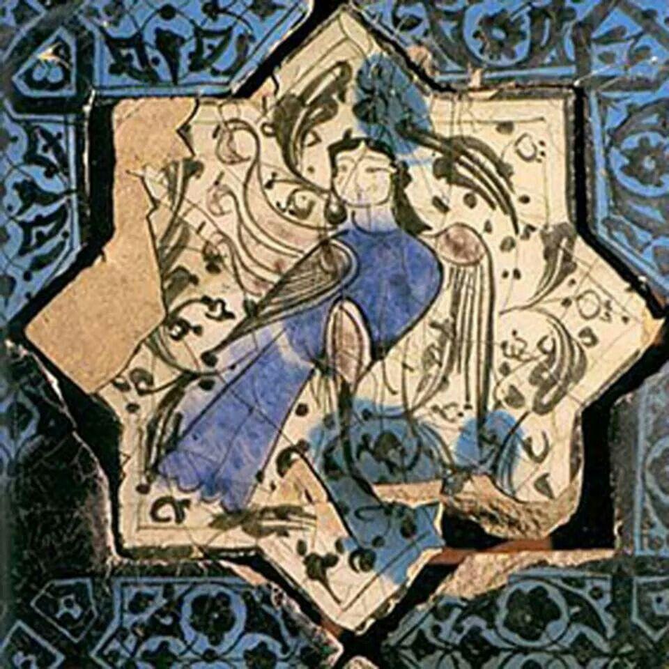 Hüma Kuşu-Umay ana, figürü Selçuklu | Sanat tarihi, Mitolojik yaratıklar,  Sanat