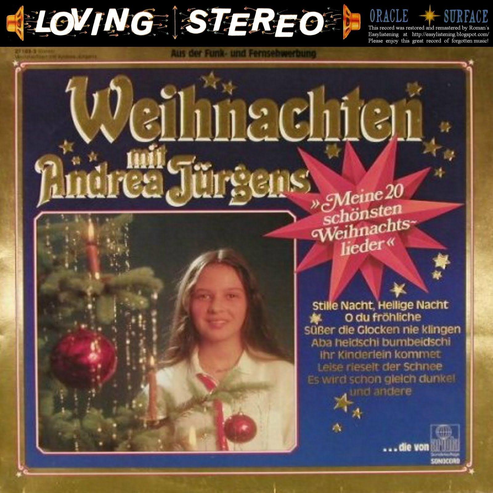 Weihnachten mit Andrea Jürgens/German Christmas songs