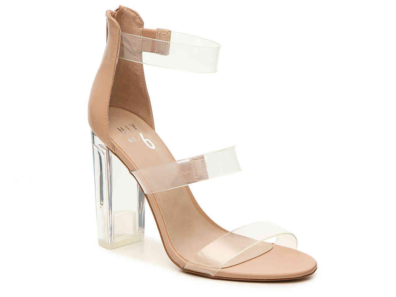 Shoes | DSW | Clear strap heels
