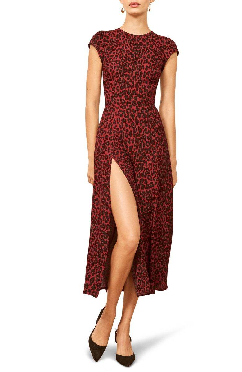 bc3287ecce9a Free shipping and returns on Reformation Gavin Dress at Nordstrom.com. A  dramatic side