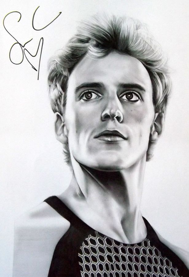 Sketchesofsam Sssh Critical Role Is: Drawing Of Finnick Odair
