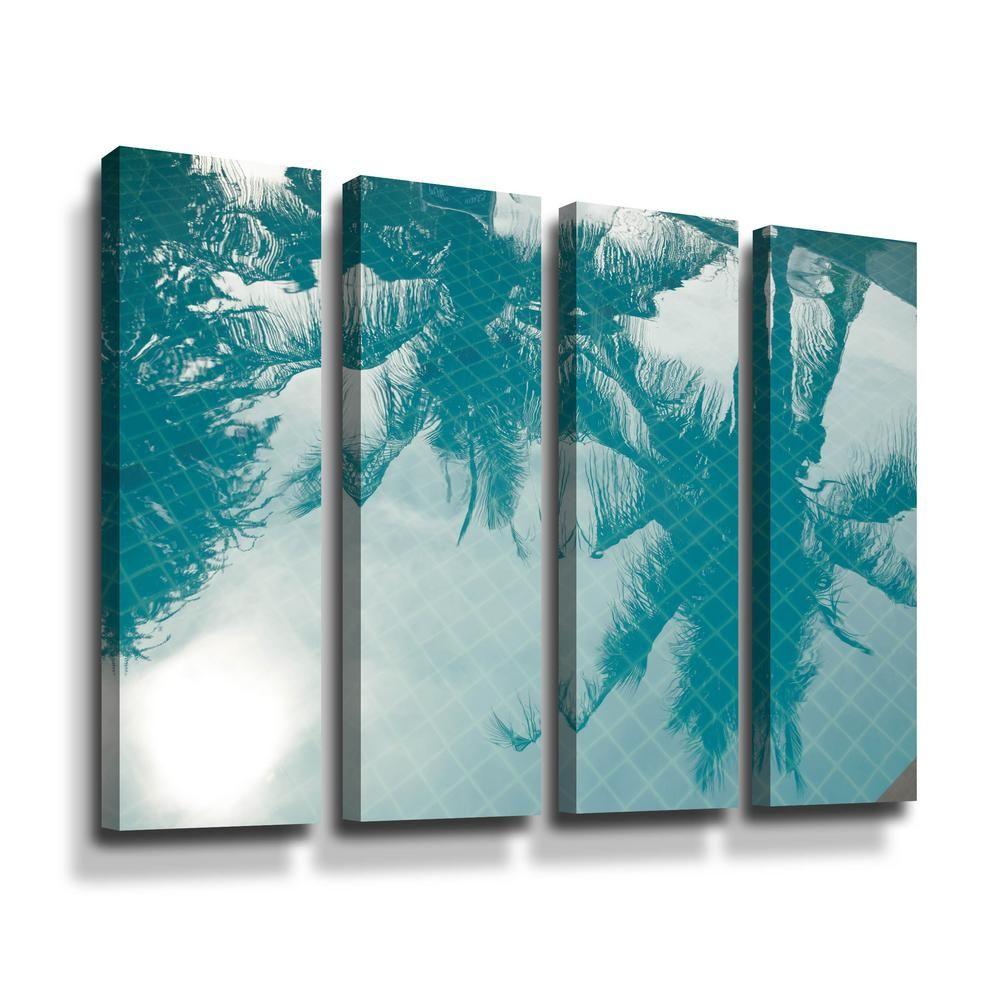 Artwall Shadow By Photoinc Studio Framed Wall Art 5pst190d3648w The Home Depot Framed Wall Art Wall Art Wrapped Canvas Art