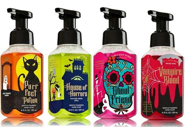 Spooky Halloween Bath Body Works Hand Soaps Bath Body Bath
