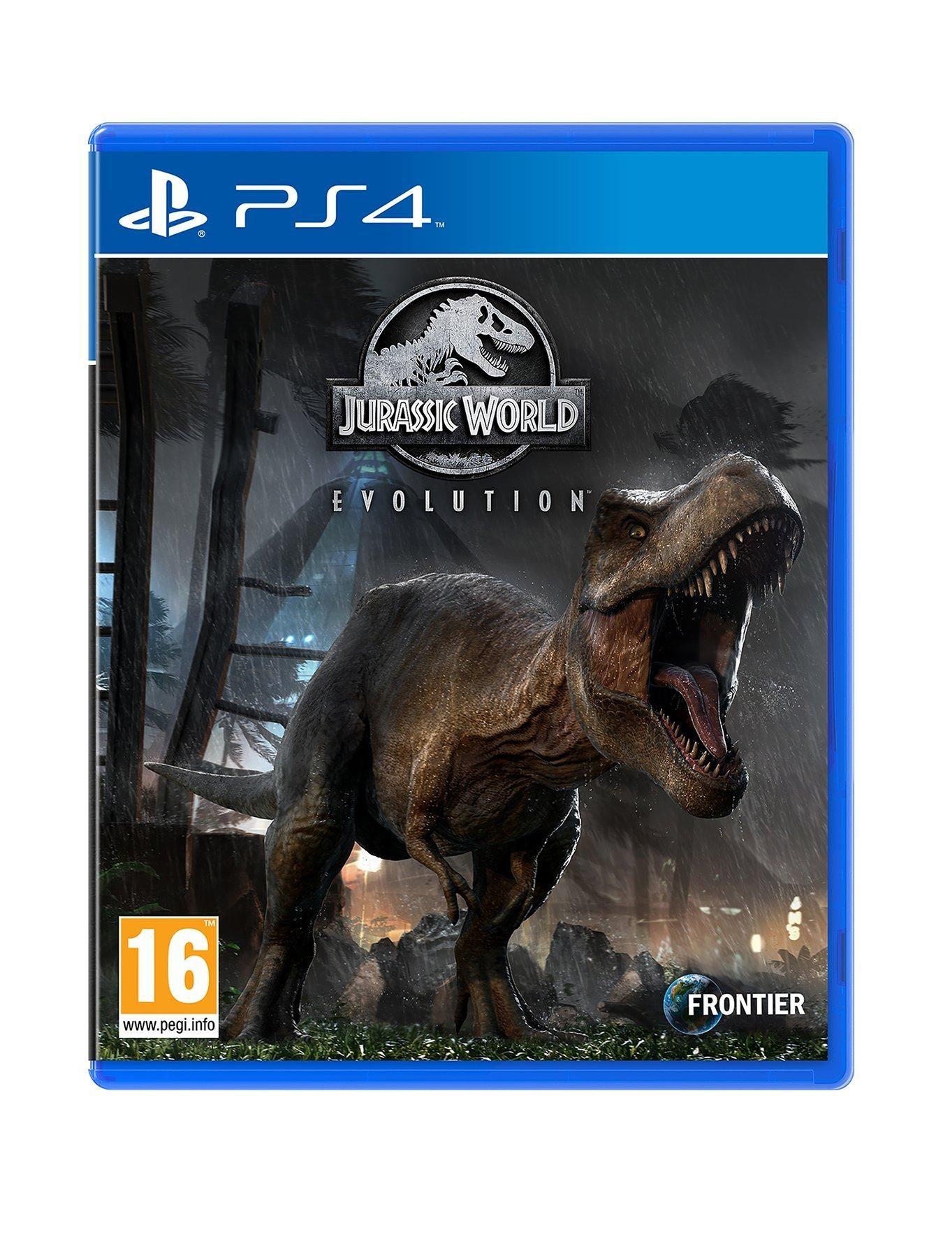 Jurassic World Evolution PS4 Jurassic world