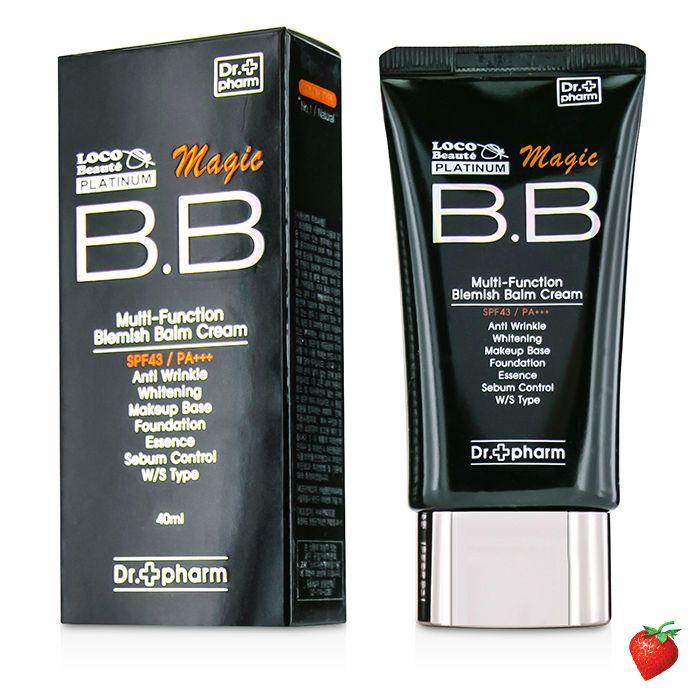 Dr  Pharm LOCO Beaute Platinum Magic BB Cream SPF43 - # 1