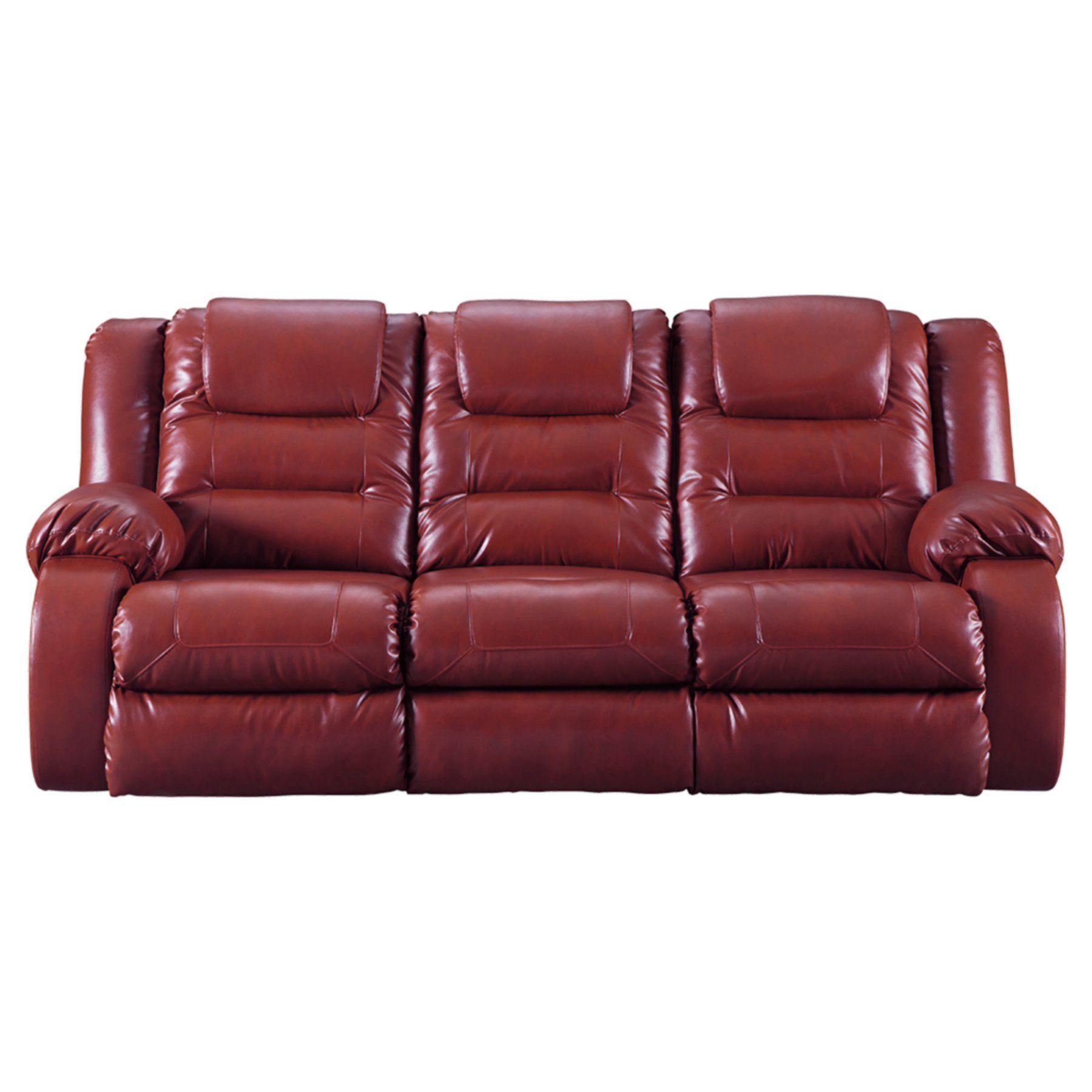 signature design by ashley vacherie reclining sofa 7930688 rh pinterest com